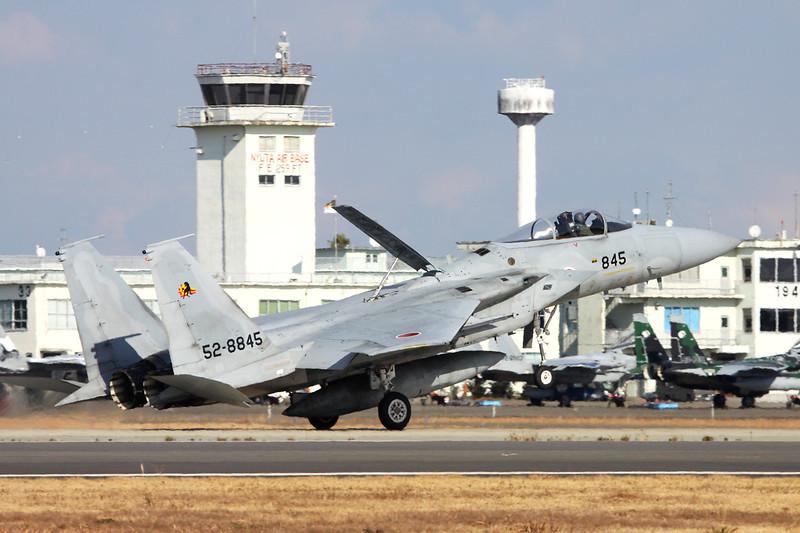 """52-8845 Mitsubishi F-15J Eagle """"JASDF"""" c/n 045 Nyutabaru/RJFN 15-01-14 """"23rd Hikotai"""""""
