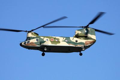 """57-4492 Boeing CH-47J Chinook """"JASDF"""" c/n 5074 Iruma/RJTJ 26-10-17"""