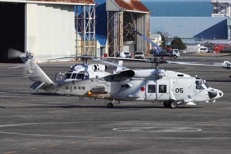 """8405 Mitsubishi SH-60K Seahawk """"JMSDF"""" c/n 5005 Kanoya/RJFY 16-01-14"""