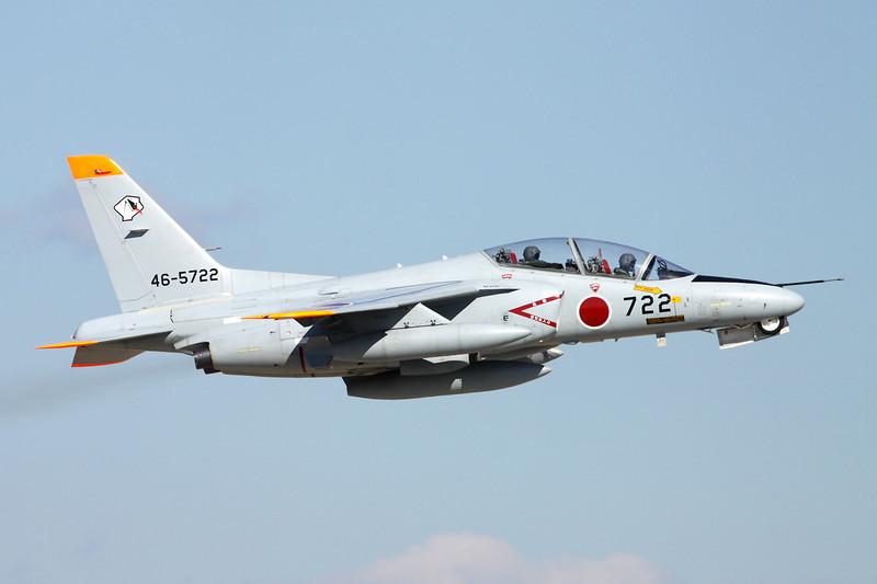 "46-5722 Kawasaki T-4 ""JASDF"" c/n 1122 Nyutabaru/RJFN 15-01-14 ""Agressor Squadron"""