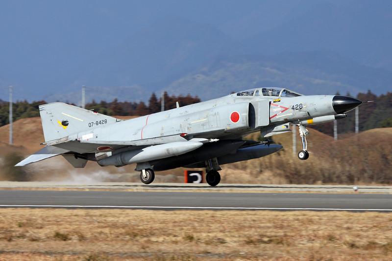 "07-8428 Mitsubishi F-4EJ Phantom II  ""JASDF"" c/n M11-115 Nyutabaru/RJFN 15-01-14 ""301st Hikotai"""
