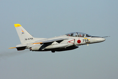 "76-5756 Kawasaki T-4 ""JASDF"" c/n 1156 Iruma/RJTJ 26-10-17"