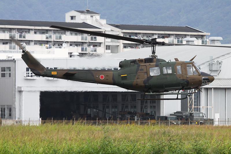 "41883 Fuji UH-1J ""JGSDF"" c/n IJ-83 Yao/RJOY 24-10-17"