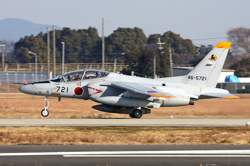 "46-5721 Kawasaki T-4 ""JASDF"" c/n 1121 Nyutabaru/RJFN 15-01-14 ""23rd Hikotai"""