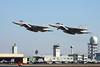 "02-8073 McDonnell-Douglas F-15DJ Eagle ""JASDF"" c/n unknown & 52-8845 Mitsubishi F-15J Eagle ""JASDF"" c/n 045 Nyutabaru/RJFN 15-01-14 ""23rd Hikotai"""