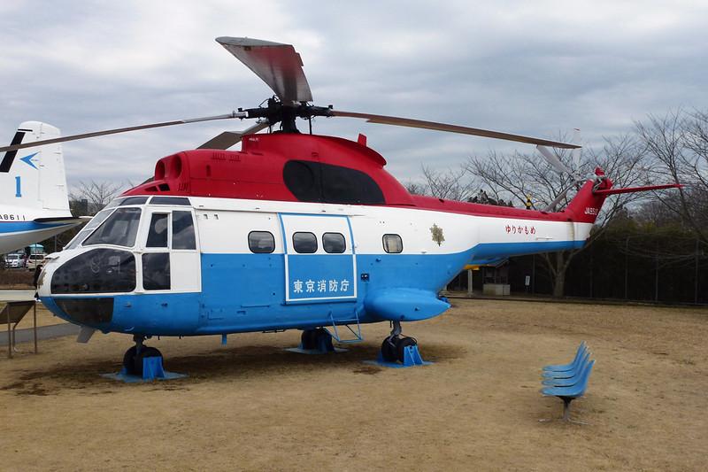 JA9512 Aerospatiale SA.330F Puma c/n 1141 Tokyo-Narita/RJAA/NRT 03-03-13