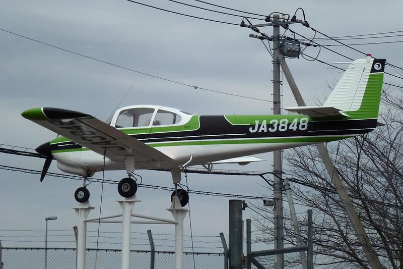 JA3848 Fuji FA-200-160 Aero Subaru c/n 294 Tokyo-Narita/RJAA/NRT 03-03-13