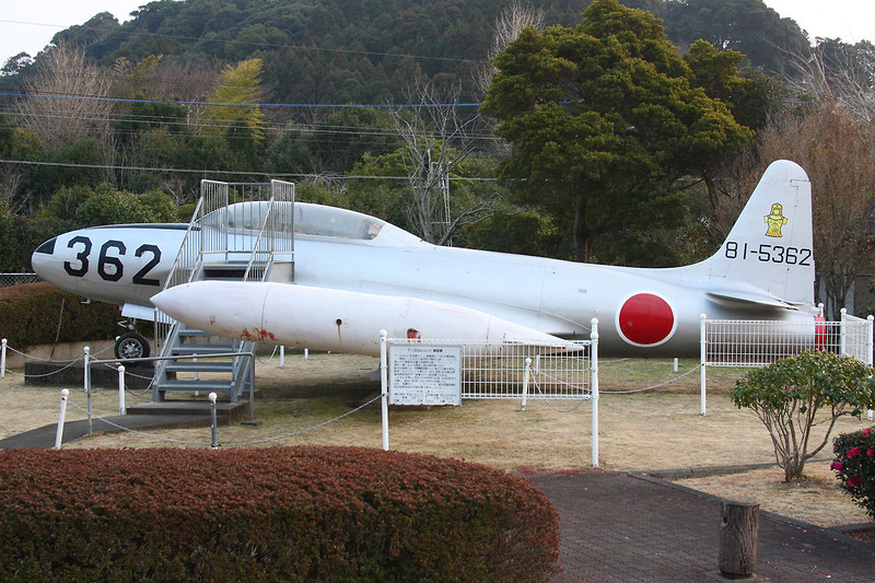 "81-5362 (362) Kawasaki T-33A Shooting Star ""Japanese Air Force"" c/n 1162 Shintomi 13-01-14"