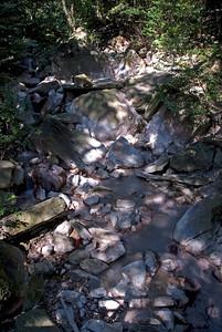 Hot Spring Creek in Kirishima National Park, Japan