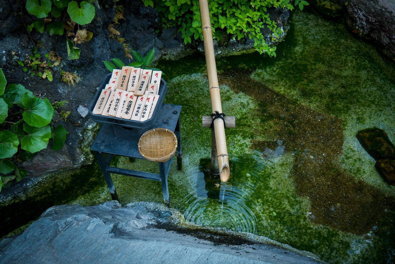 shrine at hase-dera temple kamakura