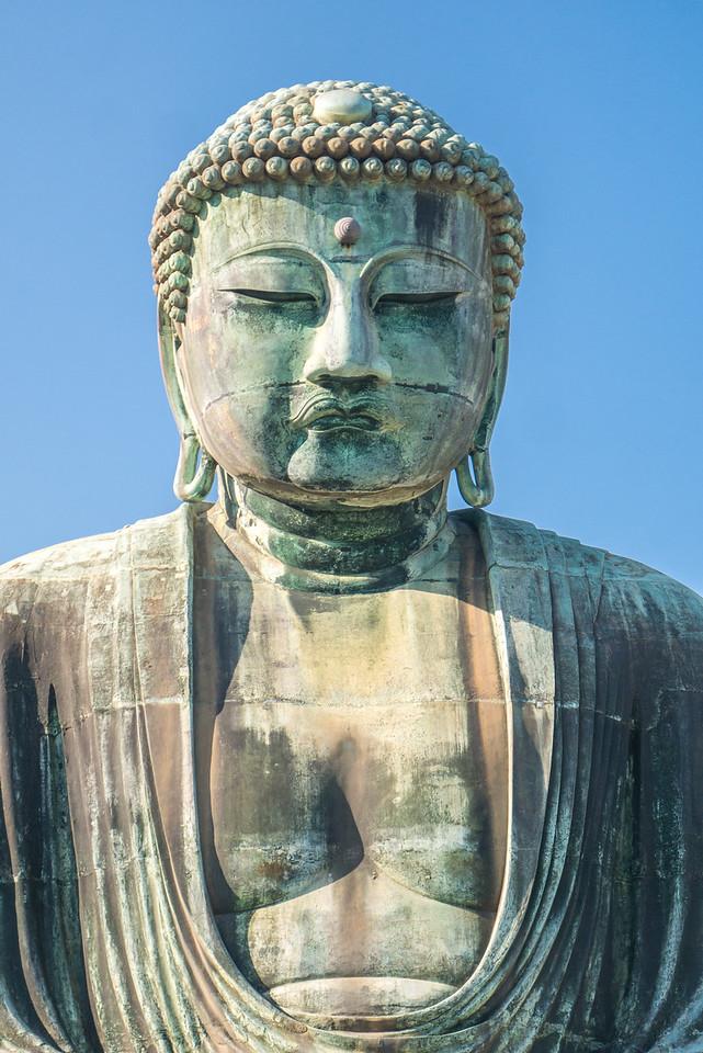 The Great Buddha of Kamakura (Daibutsu)