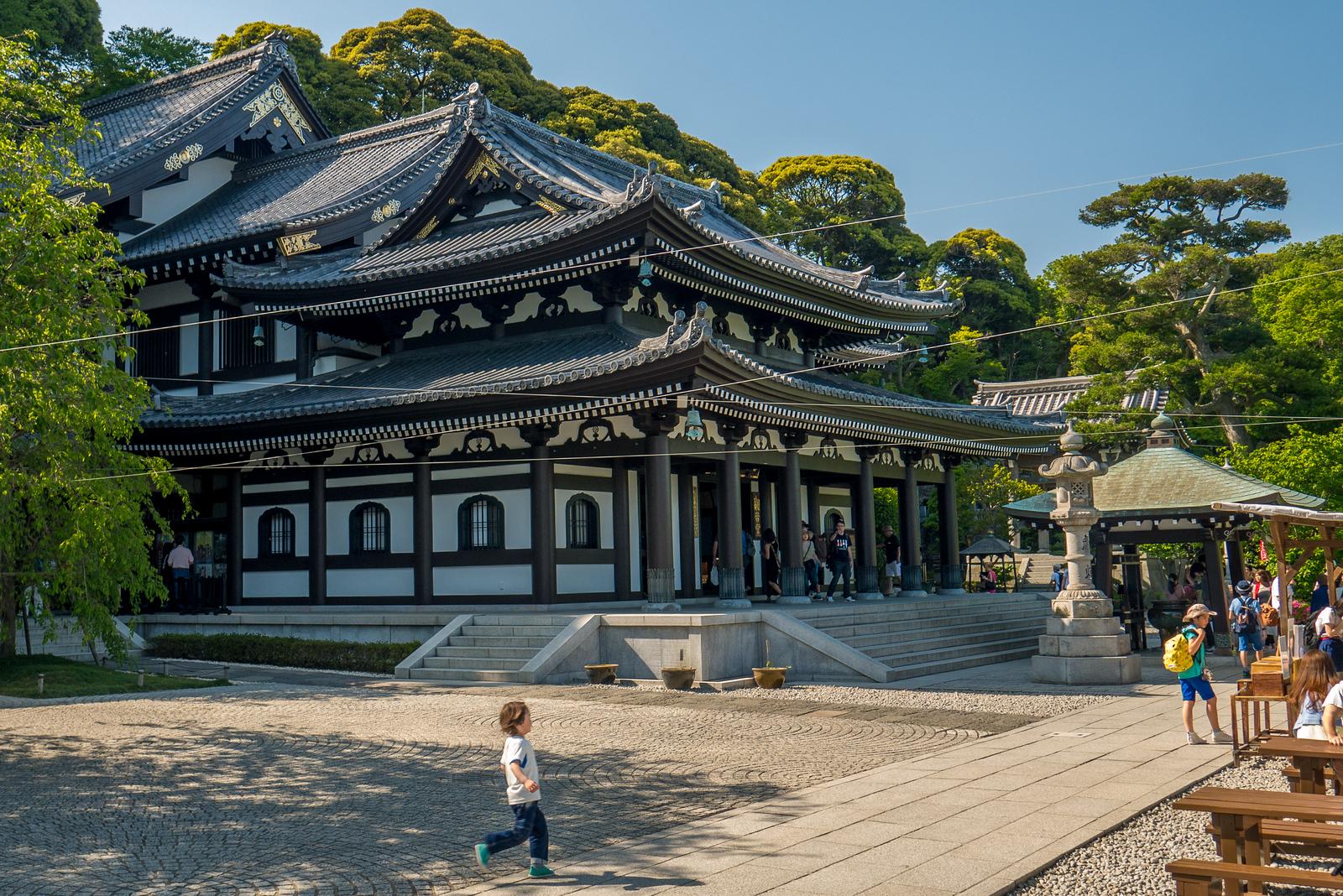 Hase-dera Temple in Kamakura, Japan
