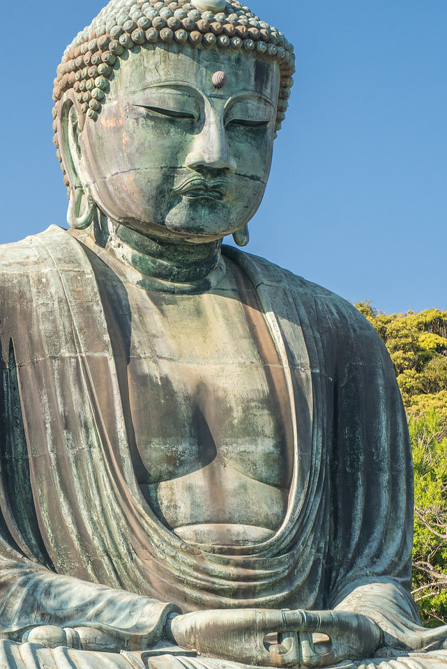 The Great Buddha of Kamakura (Daibutsu)