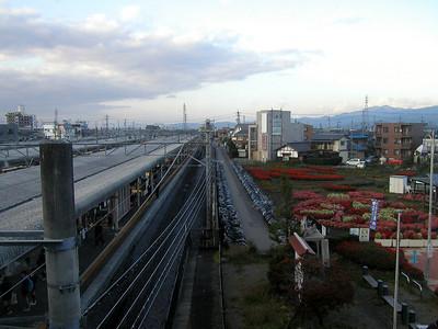 Kami-Suwa Station is on the Chūō Main Line. Seiko-Epson is here