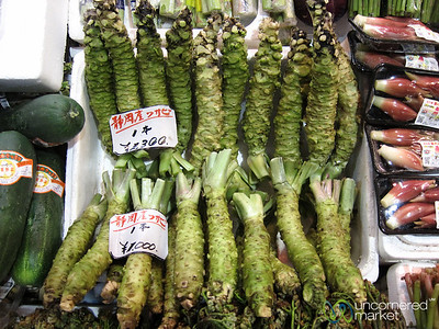 Wasabi Root - Kanazawa Market, Japan