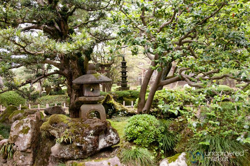 Japanese Gardens of Kenrokuen - Kanazawa, Japan