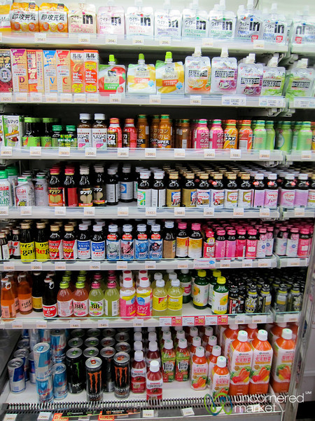 Energy Drinks at Convenience Store - Kanazawa, Japan