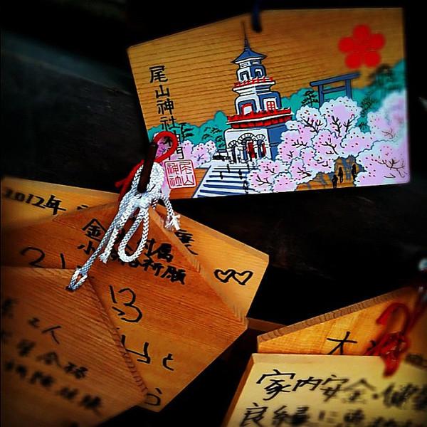 Ema prayer boards, Oyama Jinja shrine - Kanazawa, Japan #dna2japan #gadv