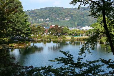 Kanazawa Kenrokuen Gardens