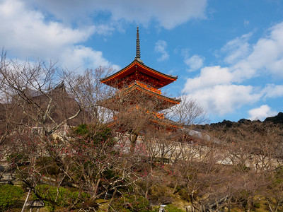 Buddhist temple, Kiyomizu-dera