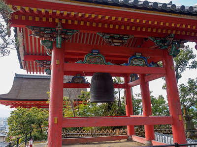 Kiyomizu Temple Shouro (Bell Tower)