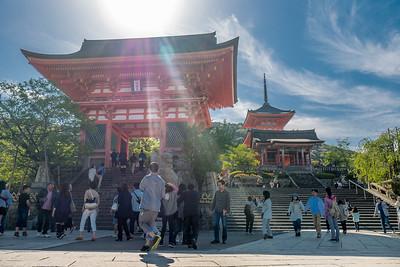 Kiyomizu-dera means Pure Water Temple