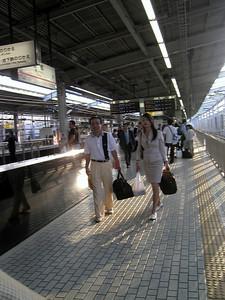 JR Train station, Kyoto, May 2004