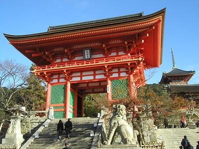 Kyoto the Kiyomizudera Temple, Japan 2004