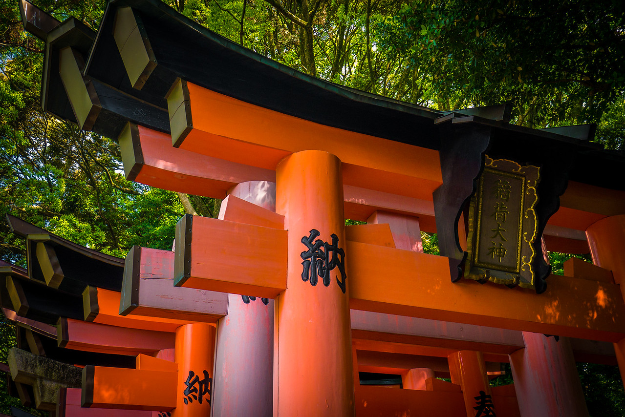 Fushimi Inari Shrine  in Kyoto, Japan.