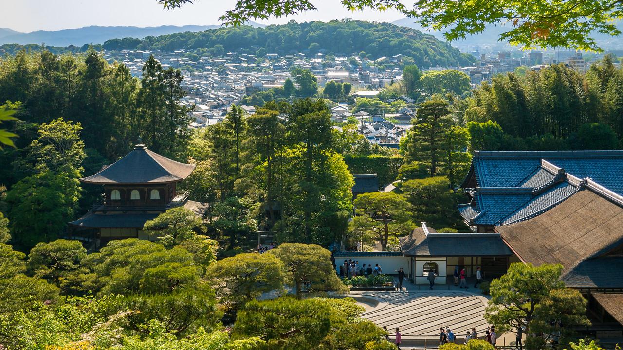 Views from Ginkaku-ji