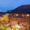 "<a target=""NEWWIN"" href=""http://en.wikipedia.org/wiki/Kiyomizu-dera"">Kiyomizu-dera</a> temple at night during sakura season, Kyoto, Japan"
