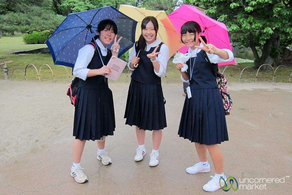 Japanese School Girls - Kyoto