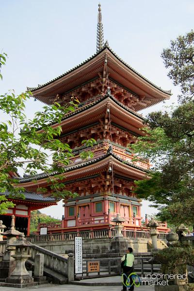 Kiyomizu-dera Temple Pagoda - Kyoto, Japan