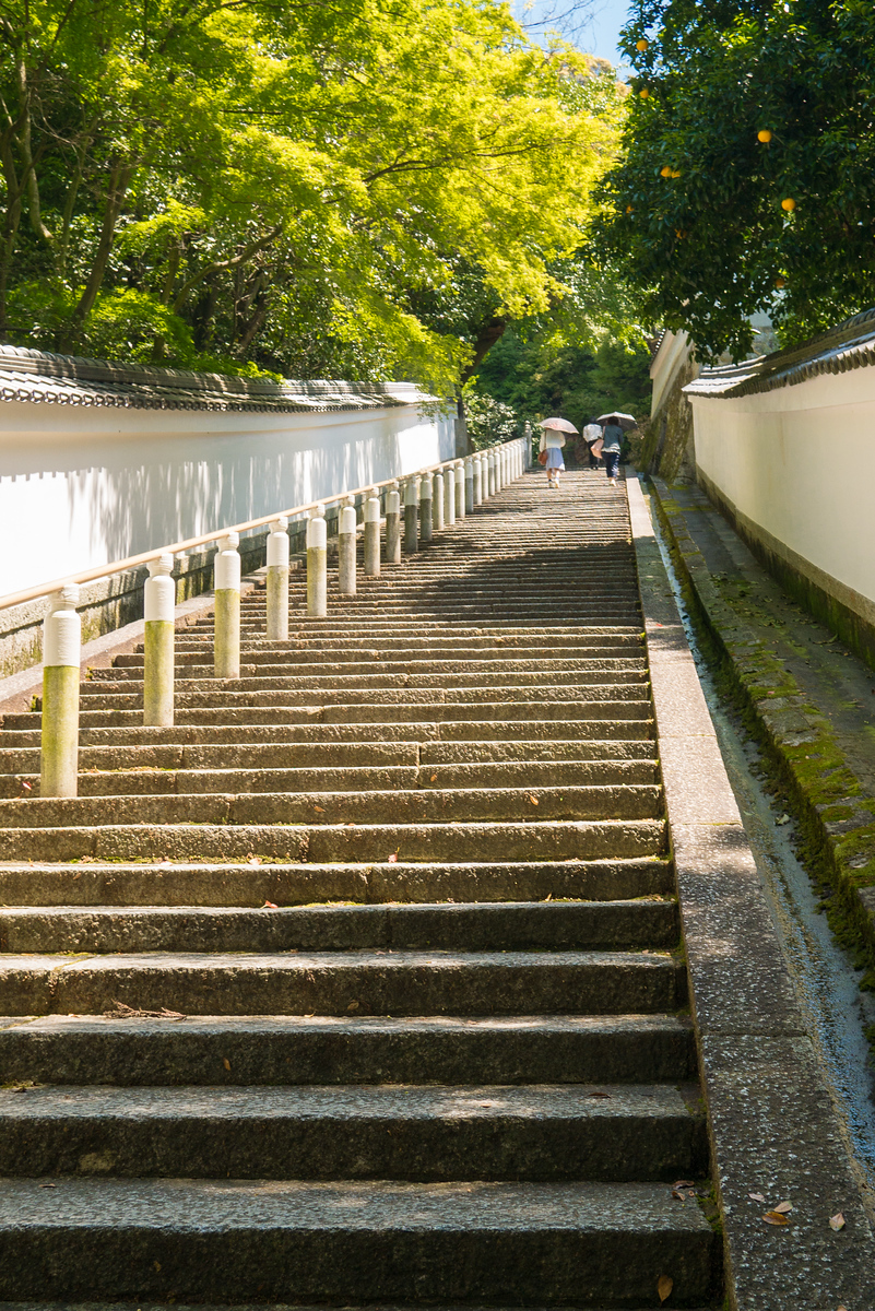 steps near Shoren-in Temple