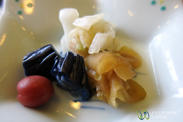 Pickled Vegetables, Japanese Breakfast