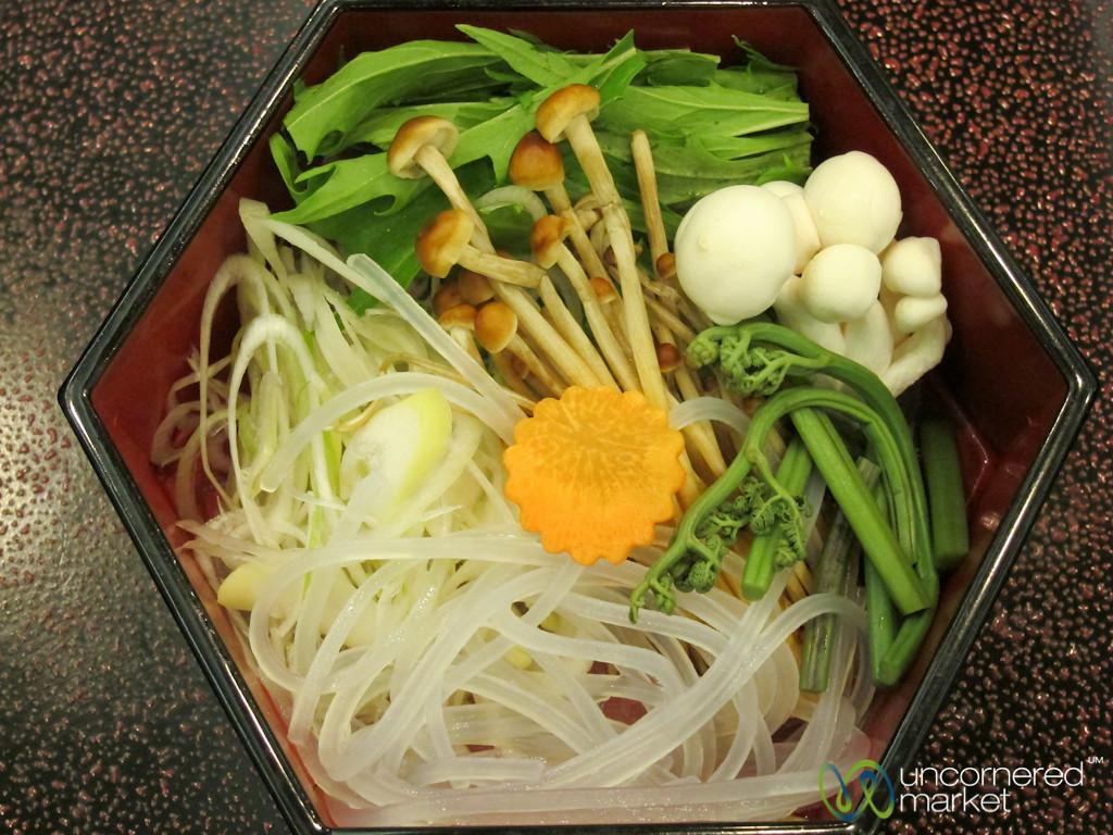 Kaiseki Dish of Raw Vegetables - Japan