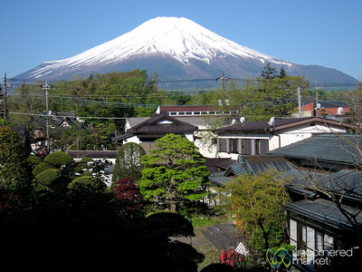 Looking Out Over Mount Fuji - Japan