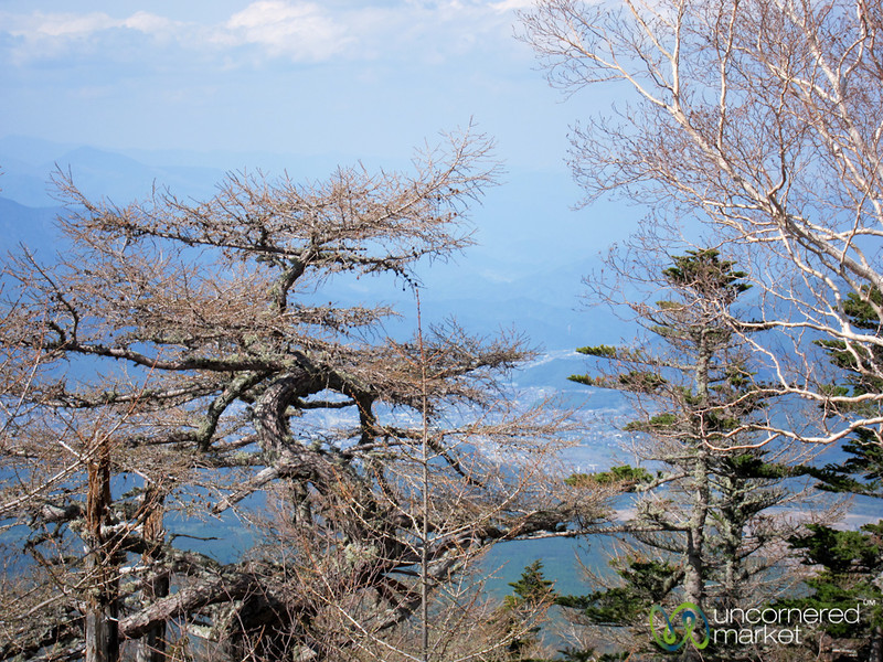 View from Mount Fuji - Japan