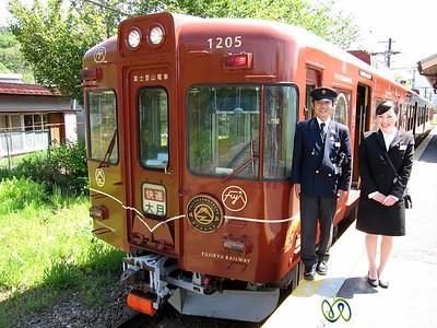 Mount Fuji Train with Staff - Japan