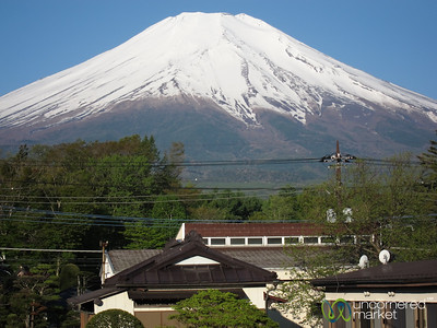 View of Mount Fuji - Yamanaka-ko, Japan