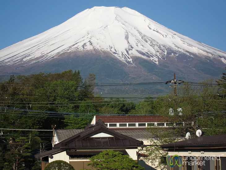 Mt Fuji Japan by Uncornered Market