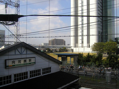 Mukaigawara Station on Nambu Line for NEC Electronics. Aug 2002
