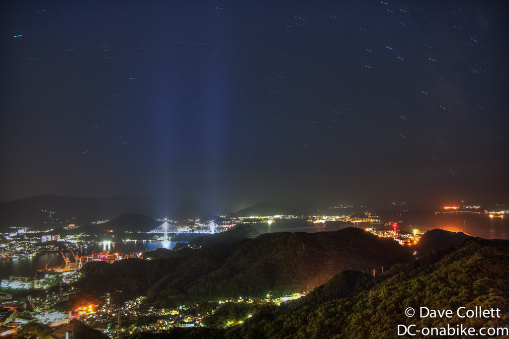 HDR longish exposures of Nagasaki Harbour