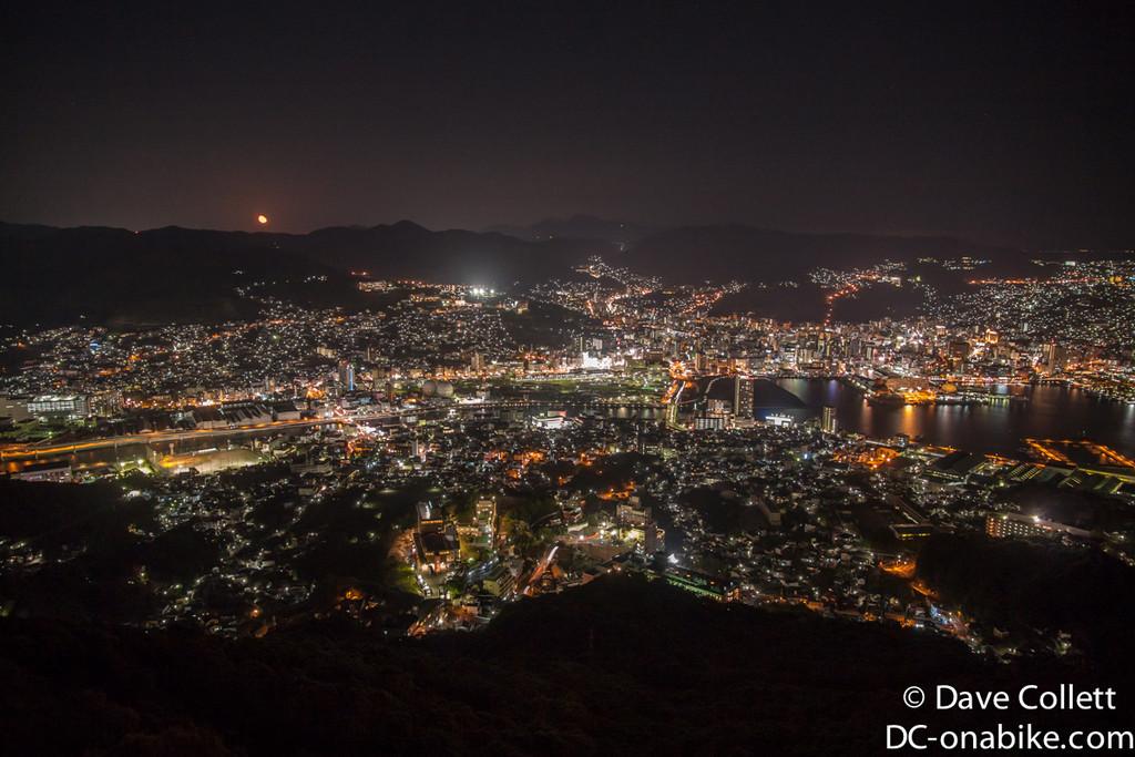 Looking over Nagasaki- looks like Wellington eh?