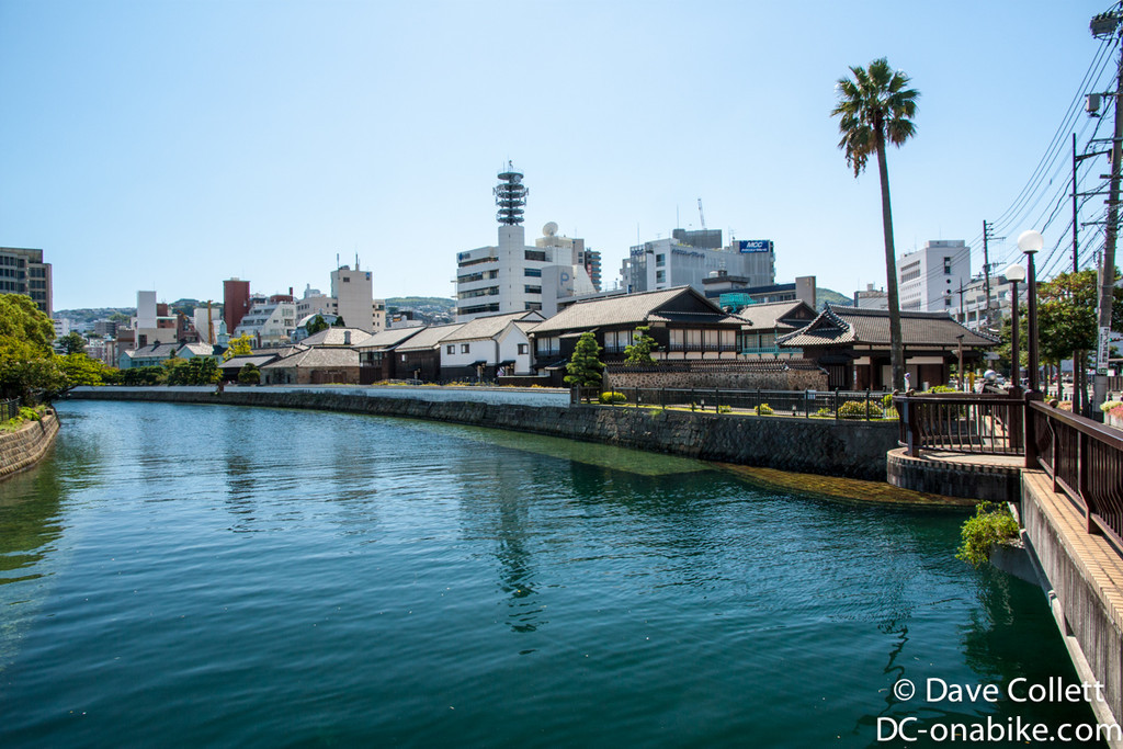 Dejima- the only part of Japan that westerners were allowed in for ages
