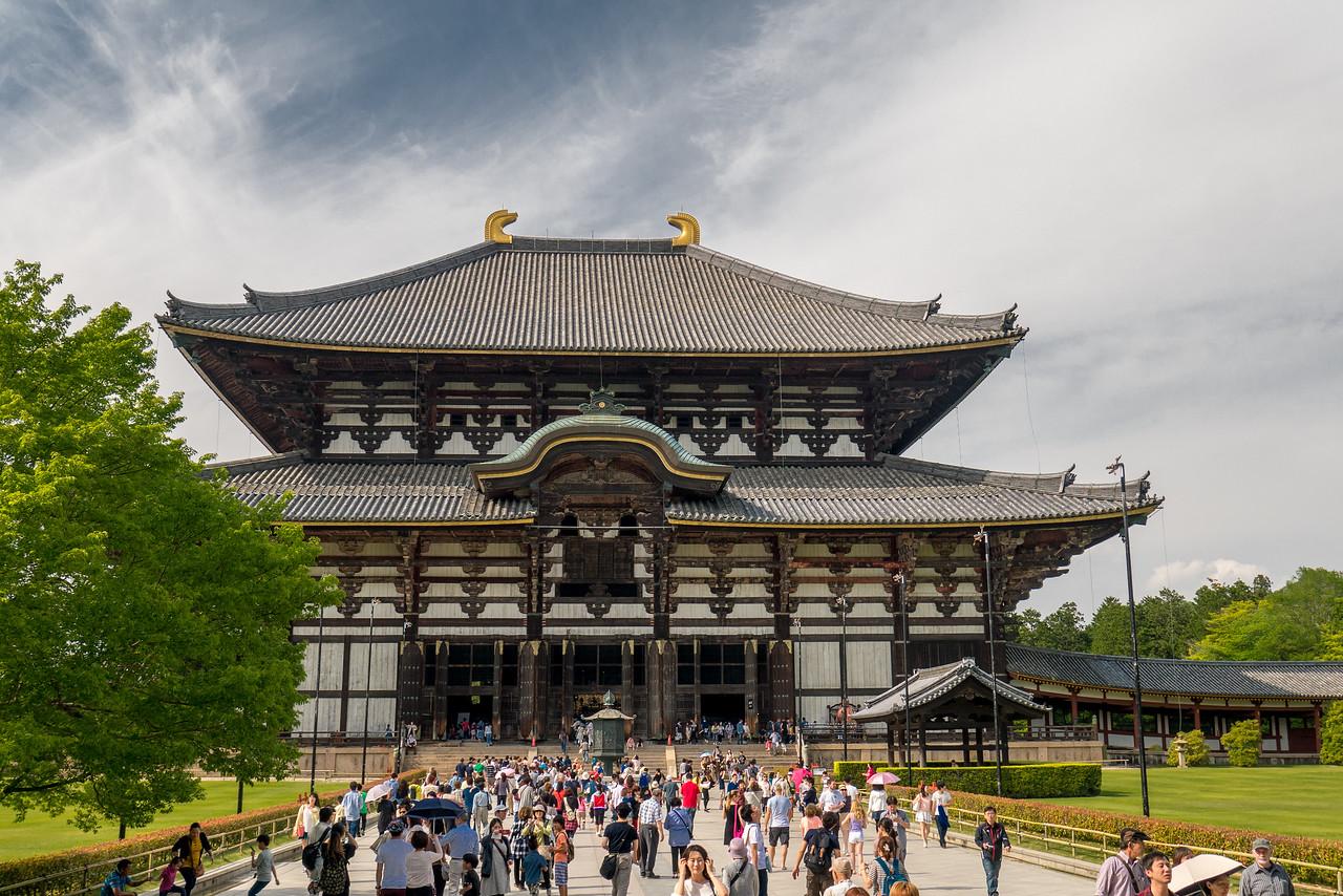 Tōdai-ji Temple in Nara, Japan.