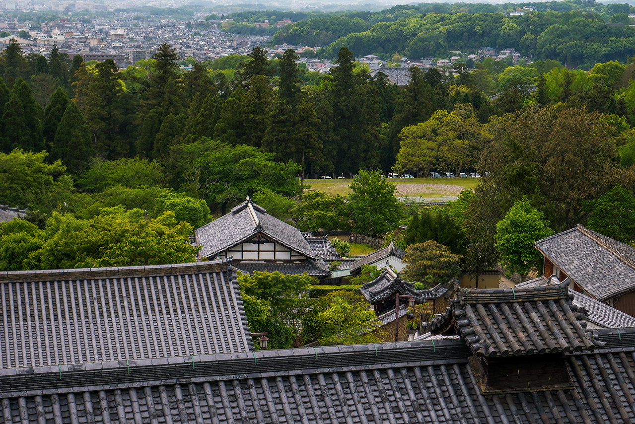 Views from Nigatsu-dō Temple