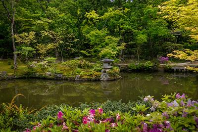 At Isui-en Garden in Nara, Japan.
