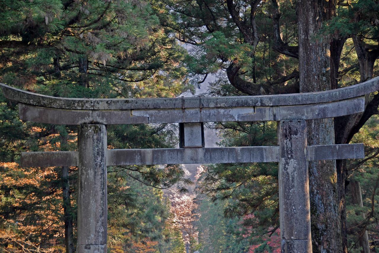 Gate at Nikkō Tōshō-gū in Nikko, Japan