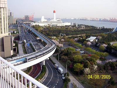 Odaiba. Tokyo bay.2005